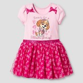 Nickelodeon Toddler Girl's Tulle Skirt Birthday Dress - Pink