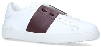 Valentino Garavani Leather Open Sneakers