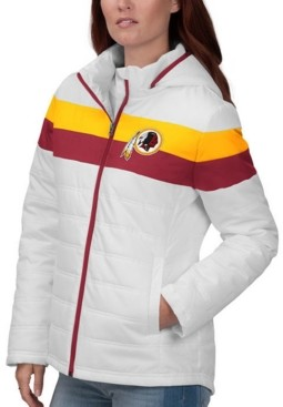 Redskins G-iii Sports Women's Washington Tie Breaker Polyfill Jacket