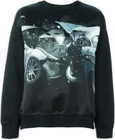 Christopher Kane car crash sweatshirt - women - Cotton - XS