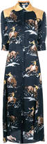 Nina Ricci printed flared dress