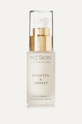 MZ Skin - Brighten & Perfect 10% Vitamin C Corrective Serum, 30ml - Colorless