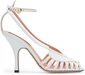 Rochas Cut-Out Sandals
