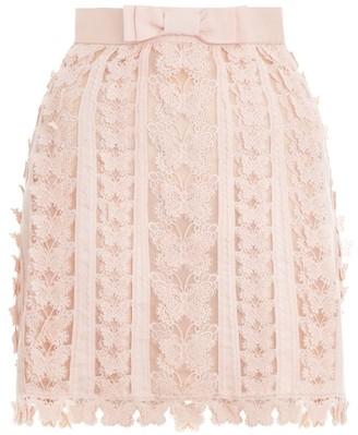 Zimmermann Super Eight Flutter Mini Skirt