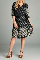 Gilli Black Wrap Dress