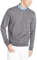 Lacoste Men's Classic Cotton Crewneck Sweatshirt