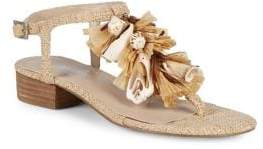 Charles by Charles David Seashell Ankle-Strap Sandals