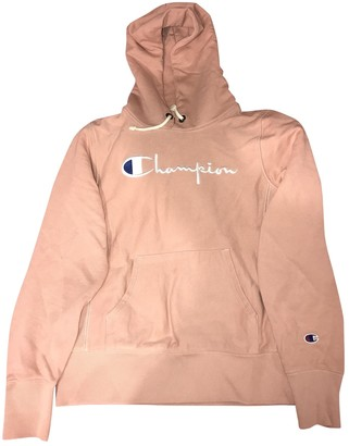 Champion Pink Cotton Knitwear for Women