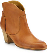 Saks Fifth Avenue 10022-SHOE Dayna Leather Ankle Boots