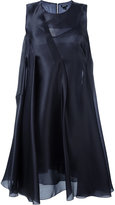 Jil Sander Navy flared dress