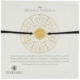 Dogeared Balance Mandala Center Circle Silk Bracelet