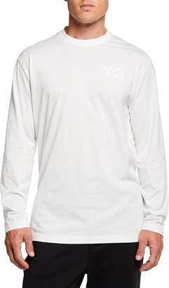Y-3 Men's Classic T-Shirt with Chest Logo