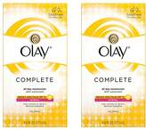 Olay Complete Lotion All Day Moisturizer with SPF 15 for6.0 fl oz, Pack of 2