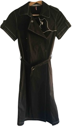 JC de CASTELBAJAC Black Cotton Dress for Women Vintage