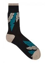 Falke Palm Beach Cotton Blend Socks - Size 9