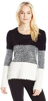 Buffalo David Bitton Women's Wanna Dip Dye Fuzzy Sweater