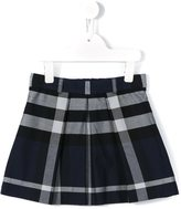 Burberry checked skirt - kids - Cotton - 6 yrs