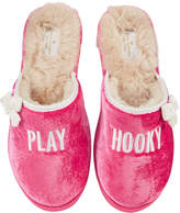 "Kate Spade Berry ""Play Hooky"" Slippers"