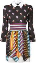 Mary Katrantzou patterned shirt dress