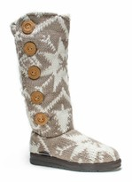 Muk Luks Malena Knit Faux Fur Lined Boot