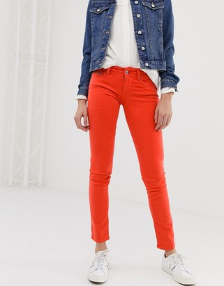 Pepe Jeans New Brooke red skinny jeans