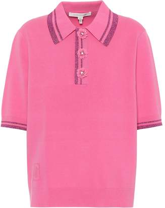 Marc Jacobs Embellished polo shirt