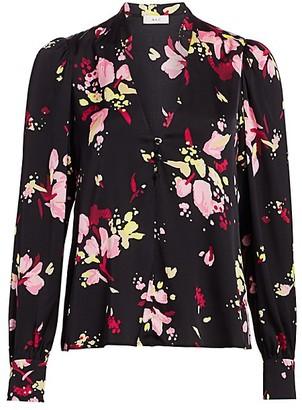A.L.C. Rivera Silk Floral Blouse