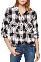 Sanctuary Boyfriend Plaid Shirt