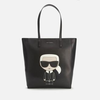 Karl Lagerfeld Paris Women's K/Ikonik Soft Tote Bag - Black