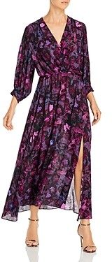 IRO Each Watercolor Print Maxi Dress