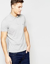 Tommy Hilfiger Polo in Slim Fit Gray