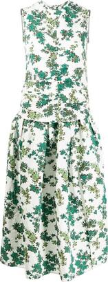 Victoria Victoria Beckham Ruched Front Dress