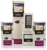 Enviroscent 12-piece Diffuser Set with Car Clip and Vase - Champagne Rose