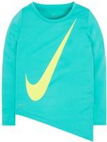 Nike Girls 4-6x Dri-FIT Asymmetrical Tee