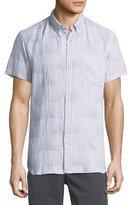 Billy Reid Tuscumbia Short-Sleeve Sport Shirt