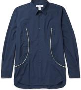 Comme Des Garçons Shirt - Zip-detailed Cotton Shirt
