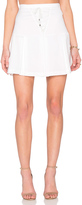 Line & Dot Rhone Lace Up Skirt