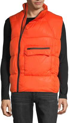 American Stitch Quilted Full-Zip Vest