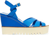 Paloma Barceló Ceralin leather wedge sandals