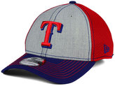 New Era Texas Rangers Heathered Neo 39THIRTY Cap