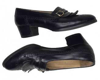 Fratelli Rossetti Black Leather Heels