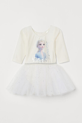 H&M Leotard with Tulle Skirt - White