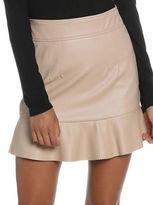 Bardot Frayer Ruffled Mini Skirt