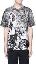Alexander Wang 'Slow and Steady' motorcycle print T-shirt