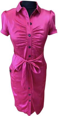 Burberry Pink Silk Dresses