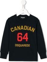 DSQUARED2 Canadian 64 print sweatshirt