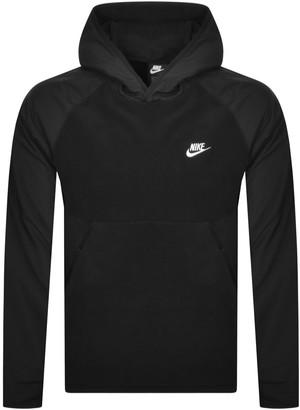 Nike Logo Hoodie Black