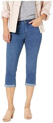 NYDJ Petite Petite Chloe Capri Jeans in Market (Market) Women's Jeans
