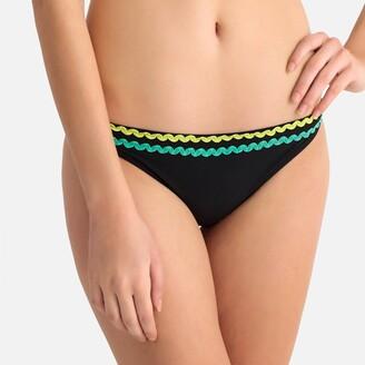 La Redoute Collections Applique Braid Mix and Match Bikini Bottoms