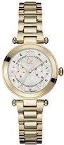 Gc Women's Lady Chic 32mm Gold Plated Bracelet & Case Quartz Watch Y06008l1